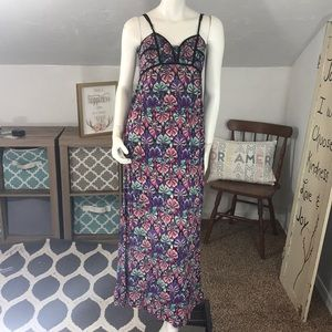 Xhilaration Purple Maxi Dress